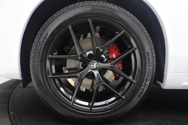 New 2020 Alfa Romeo Stelvio Ti Sport Q4 for sale $56,495 at Alfa Romeo of Westport in Westport CT 06880 14