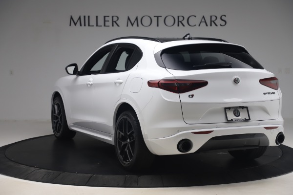 New 2020 Alfa Romeo Stelvio Ti Sport Q4 for sale $56,495 at Alfa Romeo of Westport in Westport CT 06880 5