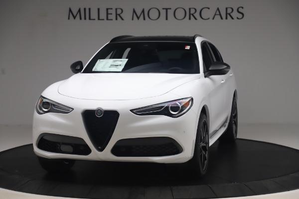 New 2020 Alfa Romeo Stelvio Ti Sport Q4 for sale $56,495 at Alfa Romeo of Westport in Westport CT 06880 1