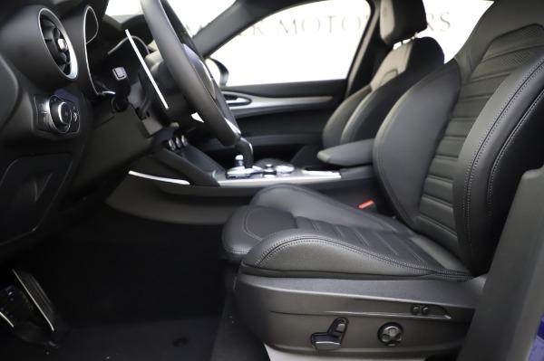 New 2020 Alfa Romeo Stelvio Ti Sport Q4 for sale $54,195 at Alfa Romeo of Westport in Westport CT 06880 12