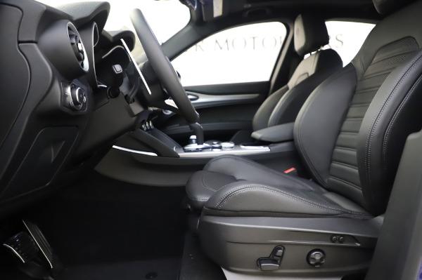 New 2020 Alfa Romeo Stelvio Ti Sport Q4 for sale $54,195 at Alfa Romeo of Westport in Westport CT 06880 13