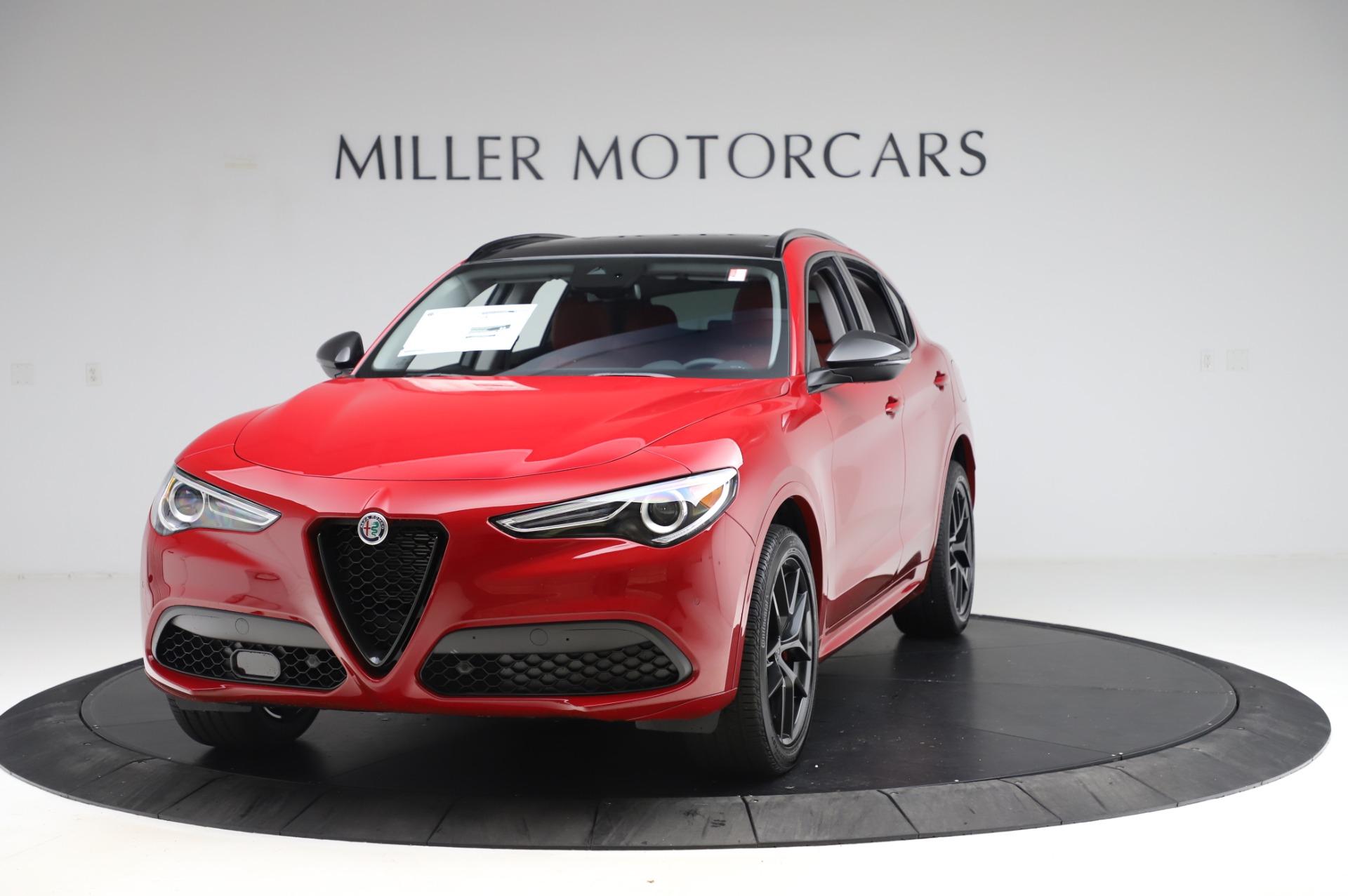 New 2020 Alfa Romeo Stelvio Ti Sport Q4 for sale $54,195 at Alfa Romeo of Westport in Westport CT 06880 1