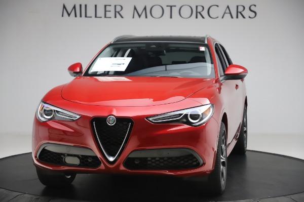 New 2020 Alfa Romeo Stelvio Ti Lusso Q4 for sale $56,495 at Alfa Romeo of Westport in Westport CT 06880 1