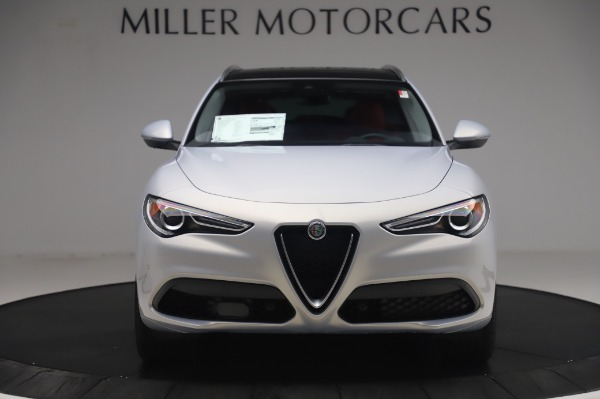 New 2020 Alfa Romeo Stelvio Ti Lusso Q4 for sale $54,145 at Alfa Romeo of Westport in Westport CT 06880 12