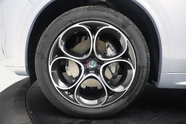 New 2020 Alfa Romeo Stelvio Ti Lusso Q4 for sale $54,145 at Alfa Romeo of Westport in Westport CT 06880 14