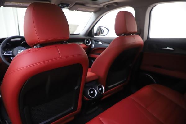 New 2020 Alfa Romeo Stelvio Ti Lusso Q4 for sale $54,145 at Alfa Romeo of Westport in Westport CT 06880 22