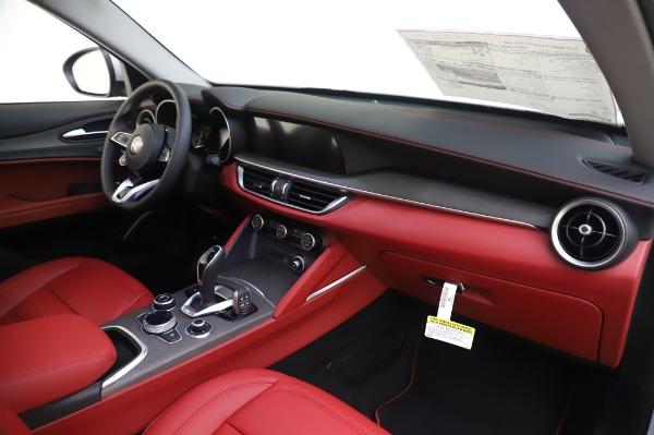 New 2020 Alfa Romeo Stelvio Ti Lusso Q4 for sale $54,145 at Alfa Romeo of Westport in Westport CT 06880 25