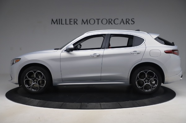 New 2020 Alfa Romeo Stelvio Ti Lusso Q4 for sale $54,145 at Alfa Romeo of Westport in Westport CT 06880 3