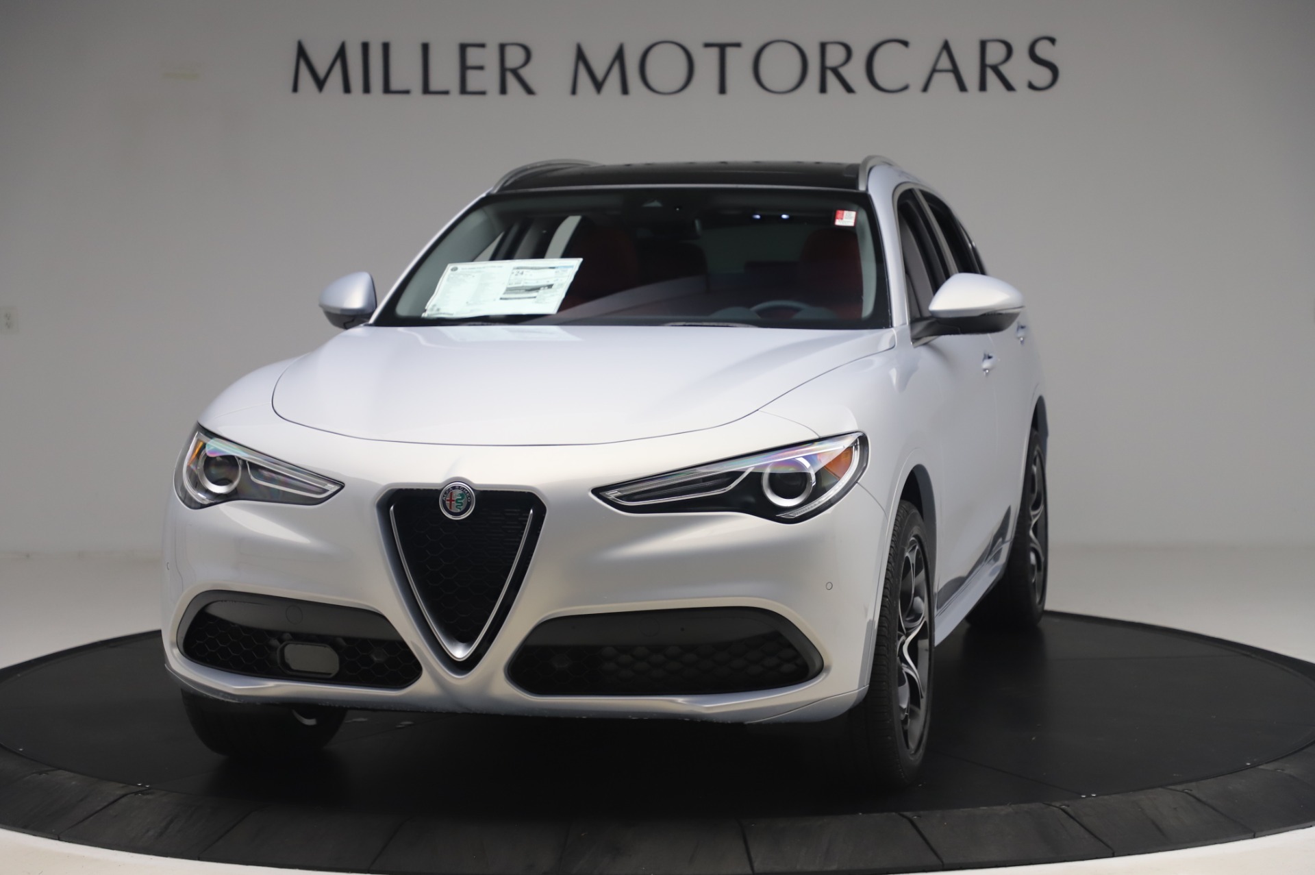 New 2020 Alfa Romeo Stelvio Ti Lusso Q4 for sale $54,145 at Alfa Romeo of Westport in Westport CT 06880 1