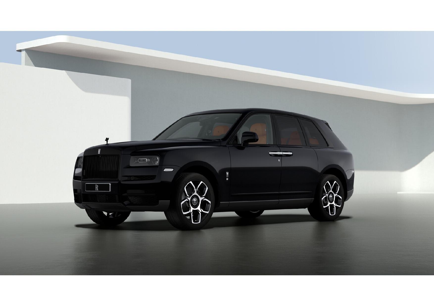 New 2021 Rolls-Royce Cullinan Black Badge for sale $433,225 at Alfa Romeo of Westport in Westport CT 06880 1
