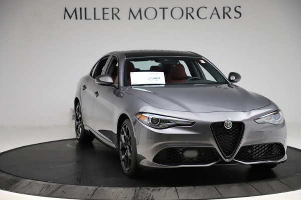 New 2020 Alfa Romeo Giulia Ti Sport Q4 for sale $48,595 at Alfa Romeo of Westport in Westport CT 06880 11
