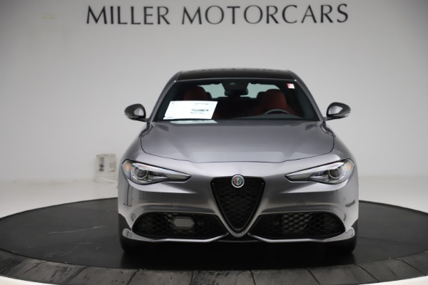 New 2020 Alfa Romeo Giulia Ti Sport Q4 for sale $48,595 at Alfa Romeo of Westport in Westport CT 06880 12