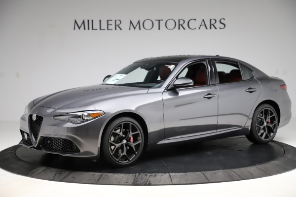 New 2020 Alfa Romeo Giulia Ti Sport Q4 for sale $48,595 at Alfa Romeo of Westport in Westport CT 06880 2