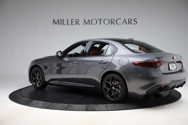 New 2020 Alfa Romeo Giulia Ti Sport Q4 for sale $48,595 at Alfa Romeo of Westport in Westport CT 06880 4