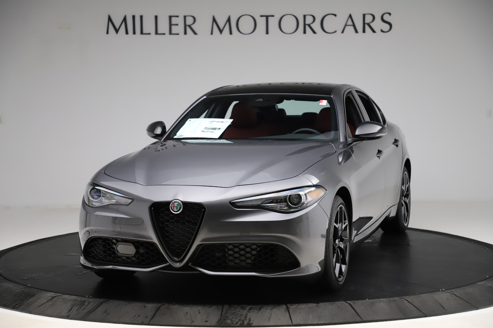 New 2020 Alfa Romeo Giulia Ti Sport Q4 for sale $48,595 at Alfa Romeo of Westport in Westport CT 06880 1