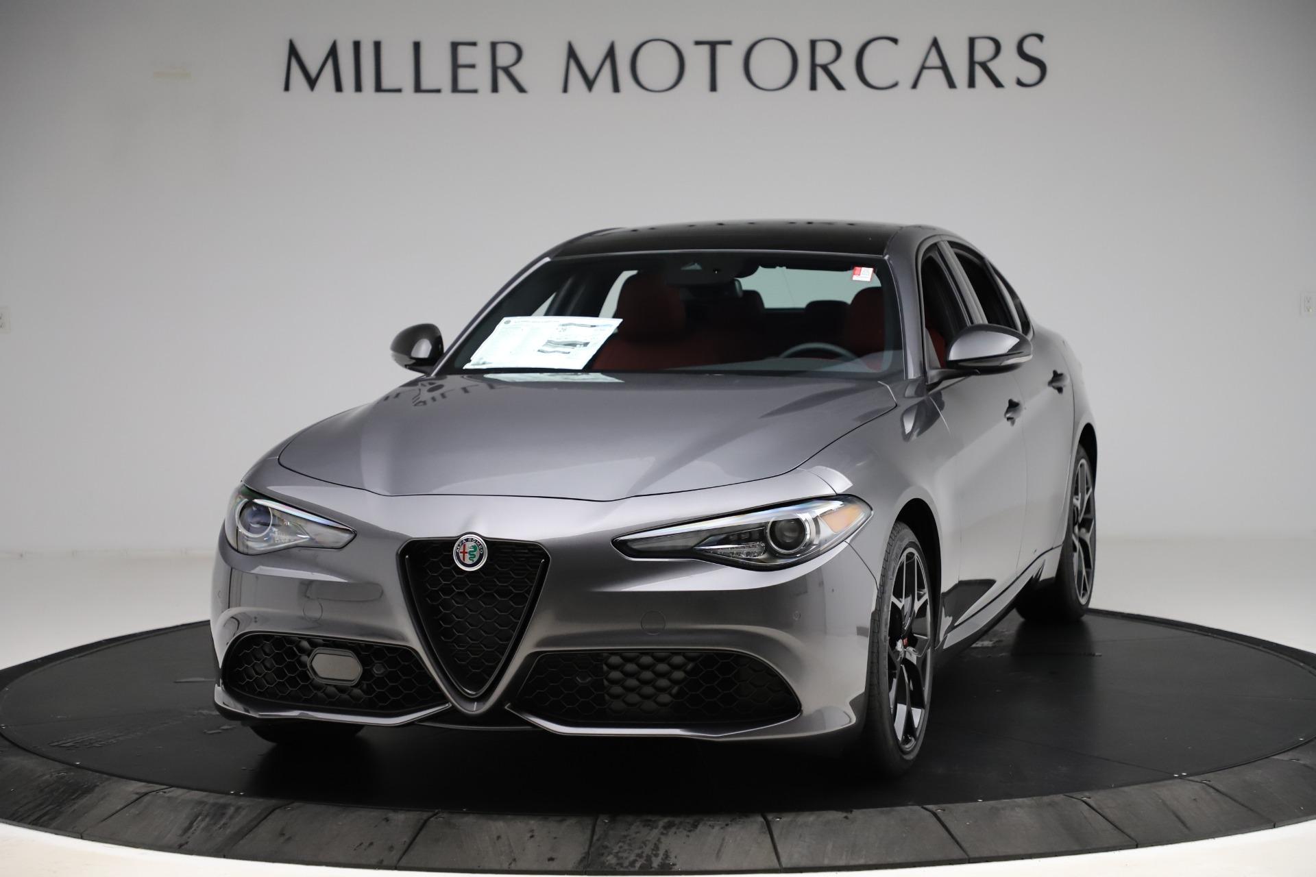 New 2020 Alfa Romeo Giulia Ti Sport Q4 for sale $53,595 at Alfa Romeo of Westport in Westport CT 06880 1