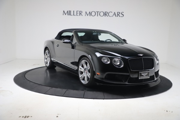 Used 2014 Bentley Continental GT Convertible V8 S for sale $109,900 at Alfa Romeo of Westport in Westport CT 06880 19
