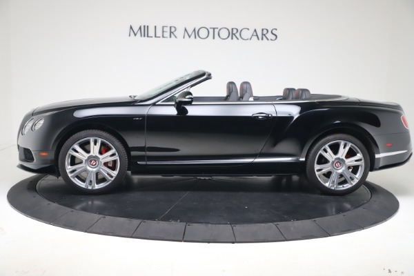 Used 2014 Bentley Continental GT Convertible V8 S for sale $109,900 at Alfa Romeo of Westport in Westport CT 06880 3