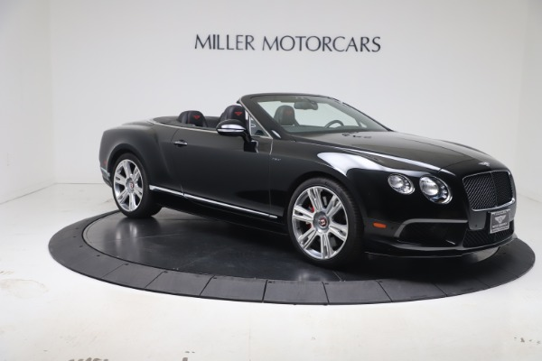 Used 2014 Bentley Continental GTC V8 S for sale $109,900 at Alfa Romeo of Westport in Westport CT 06880 9