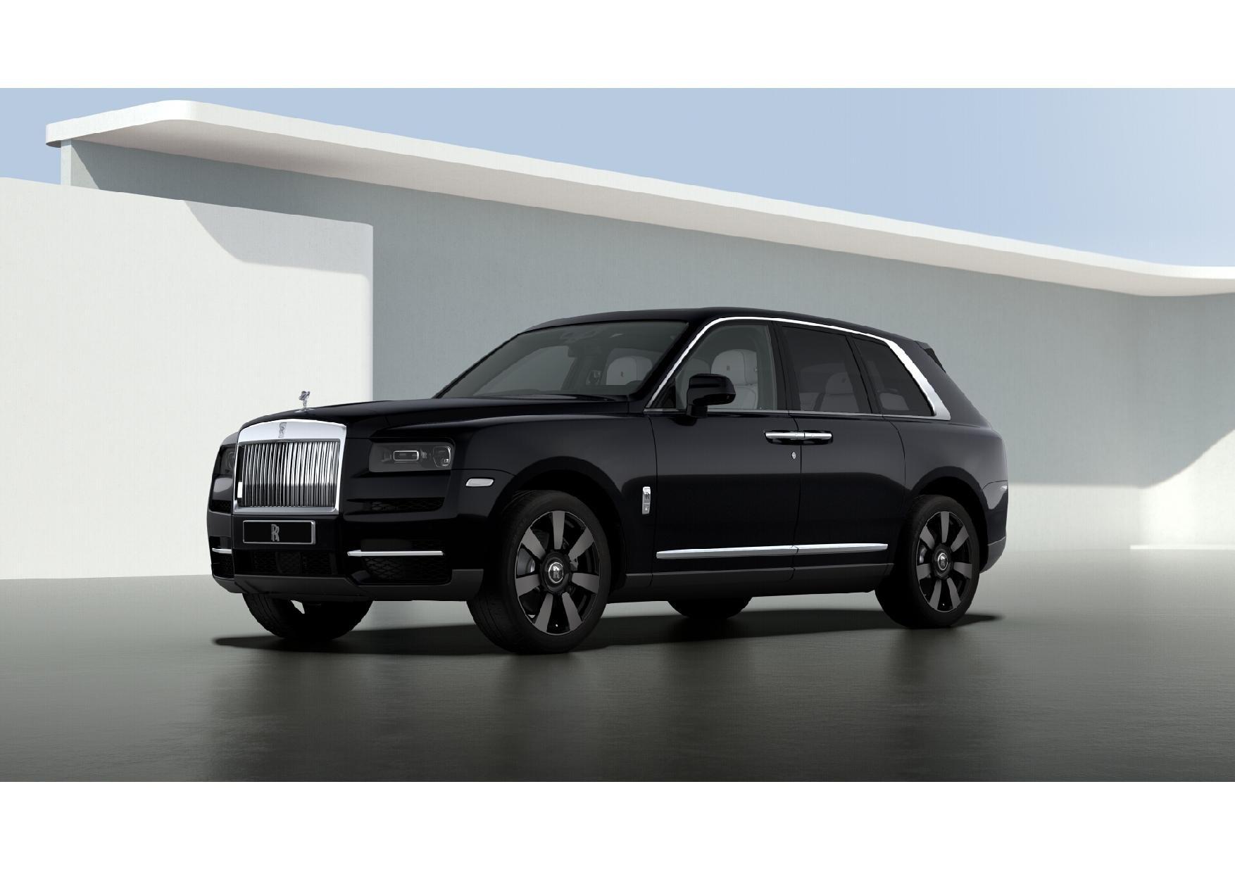 New 2021 Rolls-Royce Cullinan for sale $376,075 at Alfa Romeo of Westport in Westport CT 06880 1