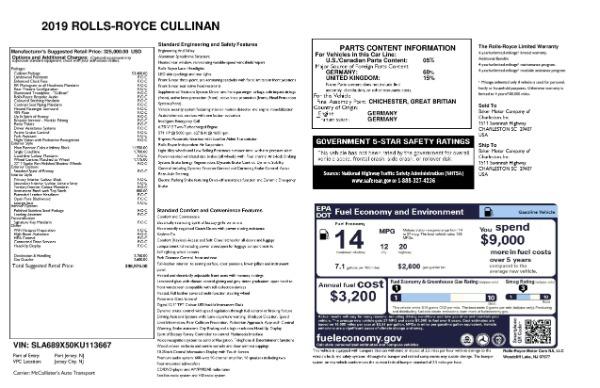 Used 2019 Rolls-Royce Cullinan for sale $349,900 at Alfa Romeo of Westport in Westport CT 06880 27