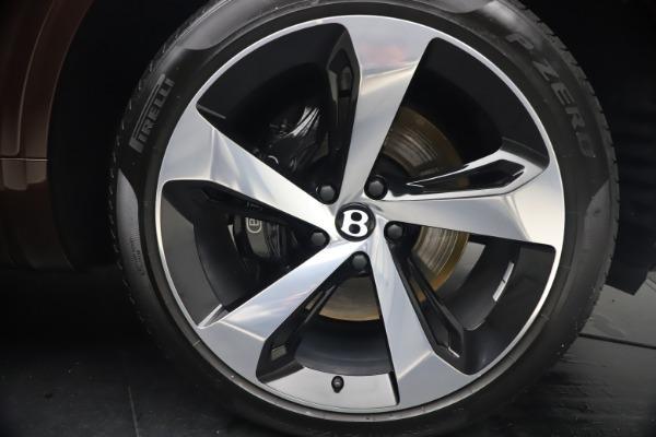 Used 2020 Bentley Bentayga V8 for sale $186,900 at Alfa Romeo of Westport in Westport CT 06880 15