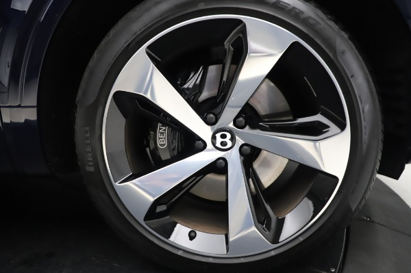 Used 2020 Bentley Bentayga V8 for sale Call for price at Alfa Romeo of Westport in Westport CT 06880 12