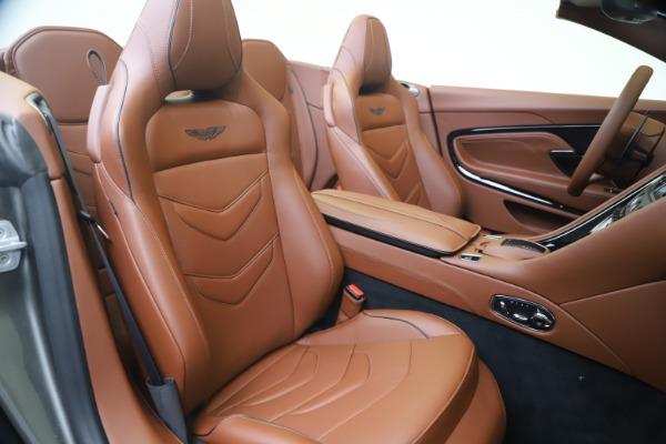New 2020 Aston Martin DBS Superleggera Volante for sale $375,916 at Alfa Romeo of Westport in Westport CT 06880 24