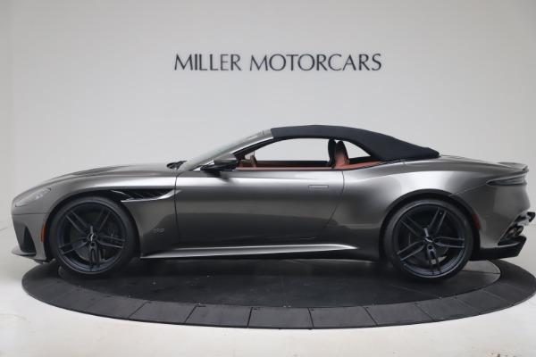 New 2020 Aston Martin DBS Superleggera Volante for sale $375,916 at Alfa Romeo of Westport in Westport CT 06880 27