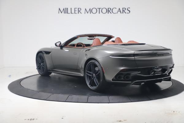 New 2020 Aston Martin DBS Superleggera Volante for sale $375,916 at Alfa Romeo of Westport in Westport CT 06880 4