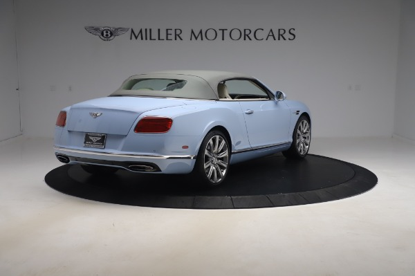 Used 2017 Bentley Continental GT Convertible W12 for sale $169,900 at Alfa Romeo of Westport in Westport CT 06880 20