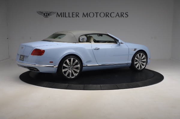Used 2017 Bentley Continental GT Convertible W12 for sale $169,900 at Alfa Romeo of Westport in Westport CT 06880 21
