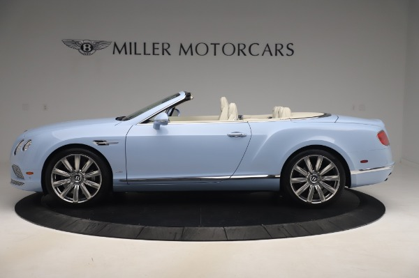 Used 2017 Bentley Continental GT Convertible W12 for sale $169,900 at Alfa Romeo of Westport in Westport CT 06880 3