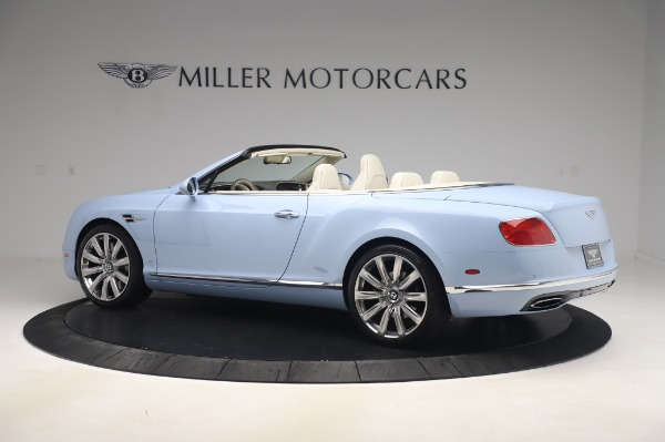 Used 2017 Bentley Continental GT Convertible W12 for sale $169,900 at Alfa Romeo of Westport in Westport CT 06880 4