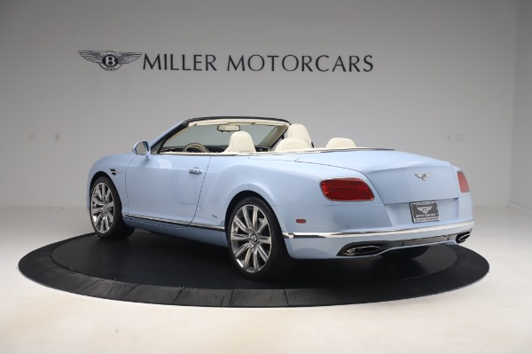 Used 2017 Bentley Continental GT Convertible W12 for sale $169,900 at Alfa Romeo of Westport in Westport CT 06880 5