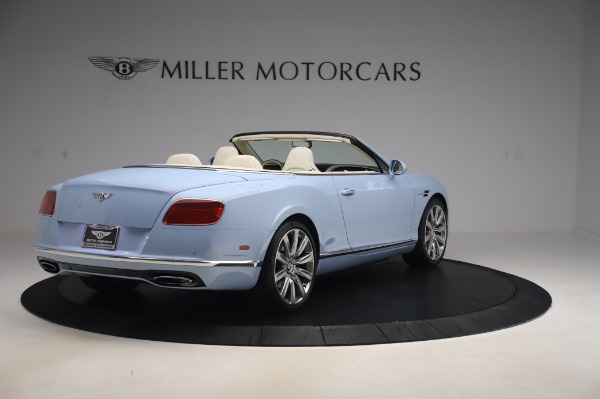 Used 2017 Bentley Continental GT Convertible W12 for sale $169,900 at Alfa Romeo of Westport in Westport CT 06880 8
