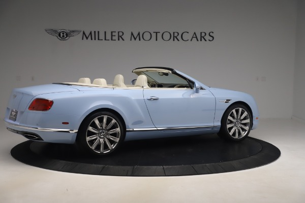 Used 2017 Bentley Continental GT Convertible W12 for sale $169,900 at Alfa Romeo of Westport in Westport CT 06880 9