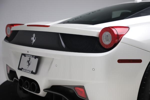 Used 2013 Ferrari 458 Italia for sale $229,900 at Alfa Romeo of Westport in Westport CT 06880 27
