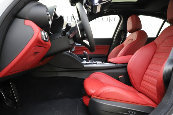 New 2020 Alfa Romeo Giulia Ti Sport Q4 for sale $51,495 at Alfa Romeo of Westport in Westport CT 06880 14