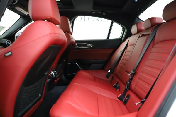 New 2020 Alfa Romeo Giulia Ti Sport Q4 for sale $51,495 at Alfa Romeo of Westport in Westport CT 06880 17