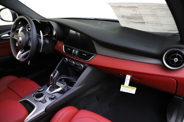 New 2020 Alfa Romeo Giulia Ti Sport Q4 for sale $51,495 at Alfa Romeo of Westport in Westport CT 06880 21