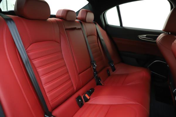 New 2020 Alfa Romeo Giulia Ti Sport Q4 for sale $51,495 at Alfa Romeo of Westport in Westport CT 06880 22
