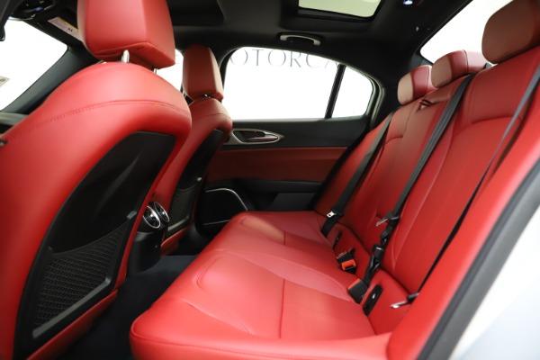New 2020 Alfa Romeo Giulia Sport Q4 for sale $48,645 at Alfa Romeo of Westport in Westport CT 06880 19
