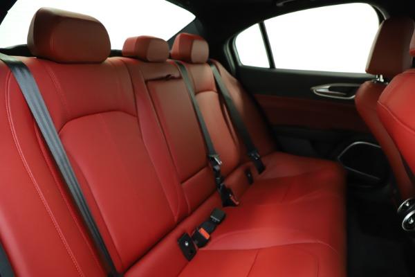 New 2020 Alfa Romeo Giulia Sport Q4 for sale $48,645 at Alfa Romeo of Westport in Westport CT 06880 24