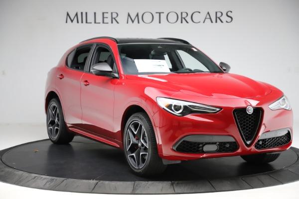 New 2020 Alfa Romeo Stelvio Ti Sport Carbon Q4 for sale $58,745 at Alfa Romeo of Westport in Westport CT 06880 11