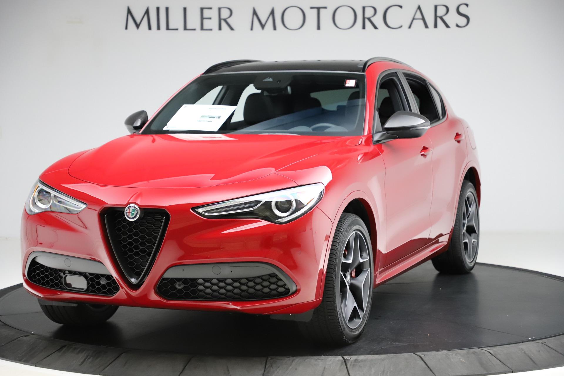 New 2020 Alfa Romeo Stelvio Ti Sport Carbon Q4 for sale $58,745 at Alfa Romeo of Westport in Westport CT 06880 1