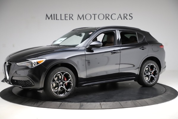 New 2020 Alfa Romeo Stelvio Ti Sport Q4 for sale Sold at Alfa Romeo of Westport in Westport CT 06880 2