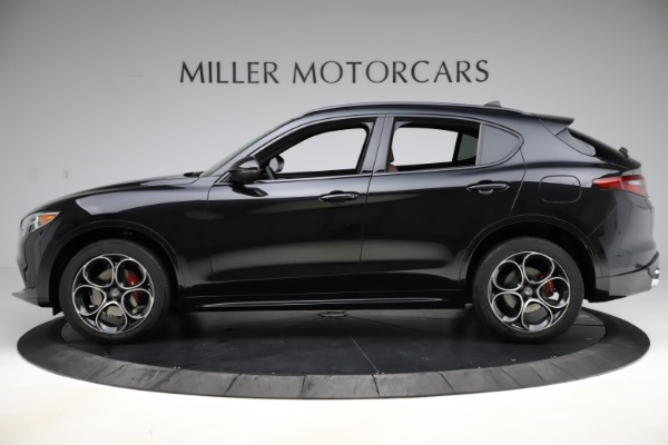 New 2020 Alfa Romeo Stelvio Ti Sport Q4 for sale Sold at Alfa Romeo of Westport in Westport CT 06880 3