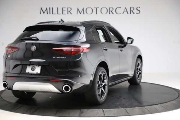 New 2020 Alfa Romeo Stelvio Ti Sport Q4 for sale Sold at Alfa Romeo of Westport in Westport CT 06880 7