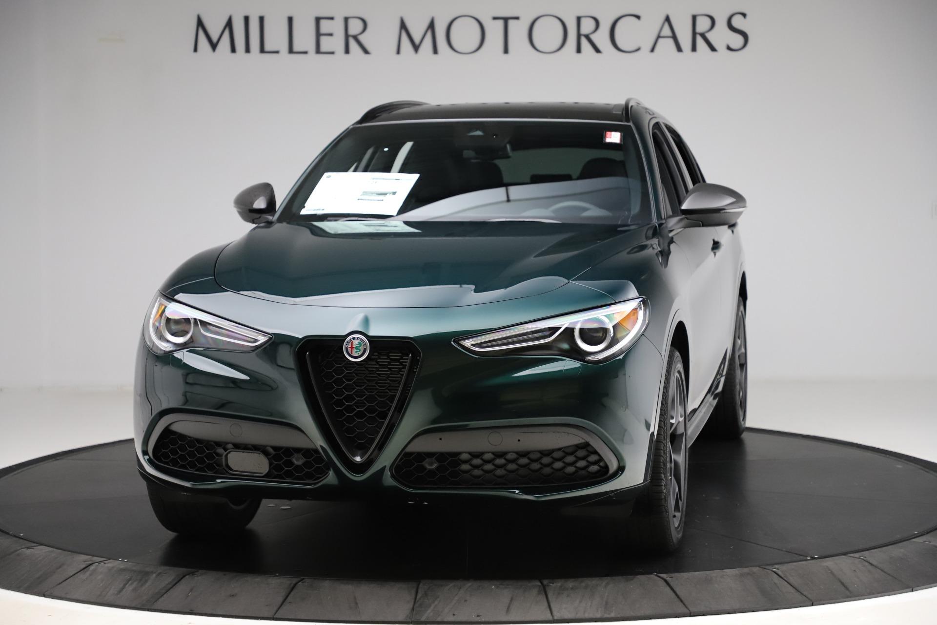 New 2020 Alfa Romeo Stelvio Ti Sport Carbon Q4 for sale Sold at Alfa Romeo of Westport in Westport CT 06880 1